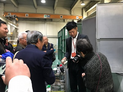 大阪石材本社にて墓地管理勉強会です
