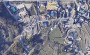 富田林市の佐備墓地です。