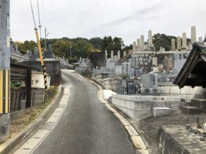 佐備墓地(富田林市)のお墓
