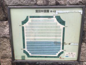 富田林霊園の4区です。