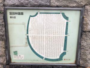 富田林霊園の8区です。
