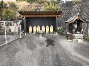 富田林市西山霊園の六地蔵