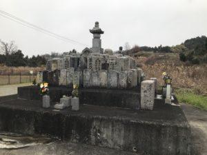 甘南備墓地(富田林市)の供養塔