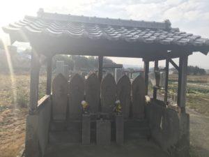 北別井墓地(富田林市)でお墓