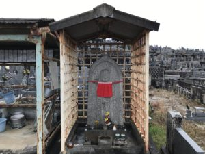 寛弘寺神山共同墓地(河南町)のお地蔵さん