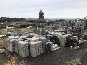 寛弘寺神山共同墓地(河南町)の供養塚