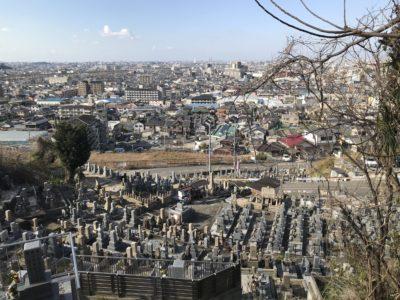 柏原市の大県墓地でお墓じまい
