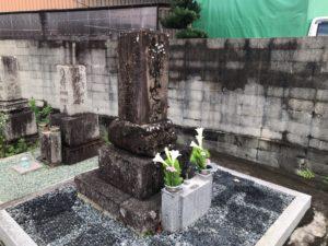 北大伴墓地(富田林市)の力士