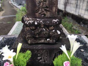 北大伴墓地(富田林市)の相撲墓