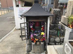 中野町墓地(富田林市)のお地蔵さん