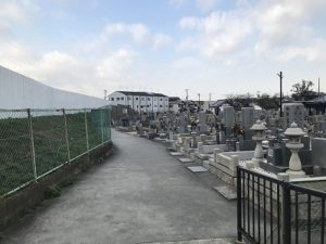 松原市阿保墓地はとてもキレイな墓地です