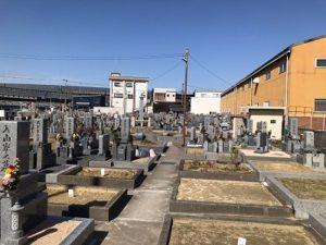 大堀共同墓地(松原市)のお墓。