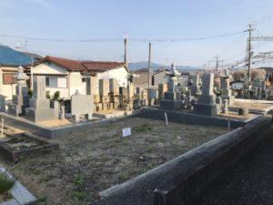 大阪狭山市の池尻墓地