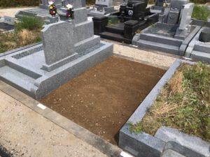 富田林霊園でお墓じまいの工事