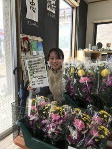 日持ちする墓花を販売しています