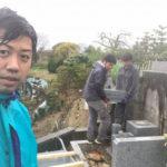 富田林市の加太墓地です