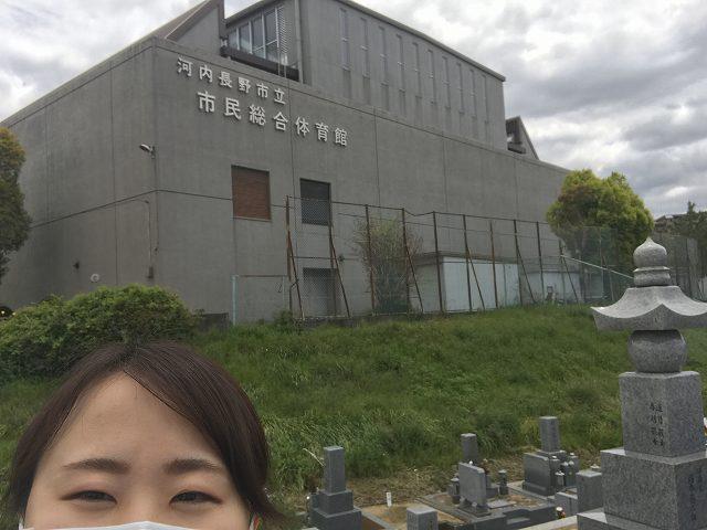 河内長野市の喜多町墓地に来ました