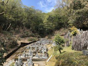河内長野市の清水墓地です