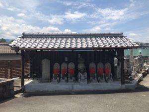 上田墓地(河内長野市)の六地蔵