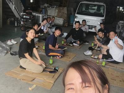大阪本社の大掃除