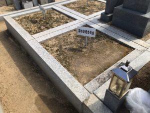田井城墓地(松原市)の空き区画