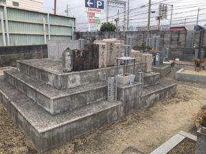 西野々墓地(松原市)のお墓