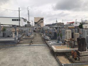 上田墓地(松原市)のお墓
