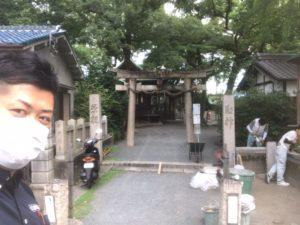 石田神社と書いて「いわたじんじゃ」と読みます