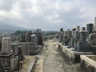 寛弘寺神山墓地(河南町)のお墓