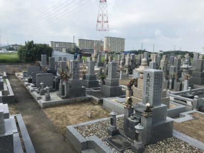 一須賀墓地(河南町)のお墓