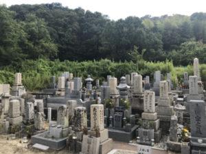 寺田墓地(河南町)のお墓