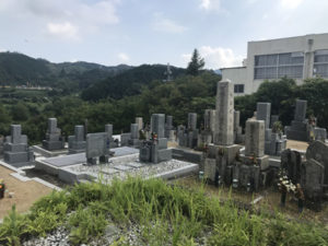 南加納墓地(河南町)のお墓