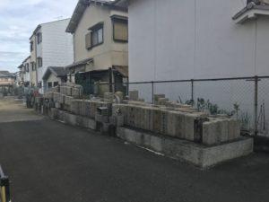 島泉墓地(羽曳野市)のお墓