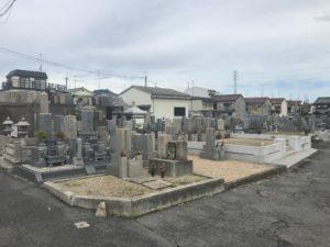 小土墓地(羽曳野市)のお墓