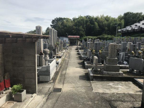 河原城墓地(羽曳野市)のお墓