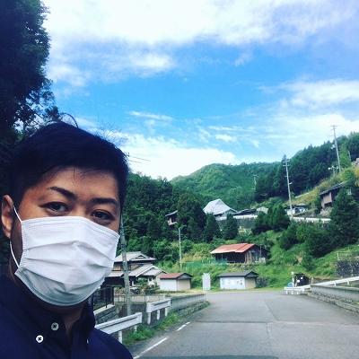 奈良県野迫川村にてお墓の確認