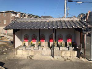 西浦墓地(羽曳野市)のお墓