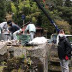 奈良県野迫川村でお墓じまい工事