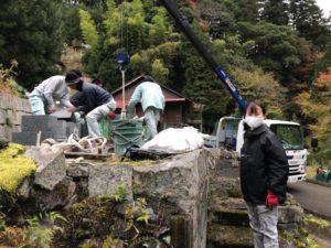 奈良県野迫川村でお墓じまい