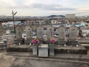円明町墓地のお墓