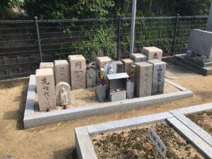 田井城墓地(松原市)のお墓