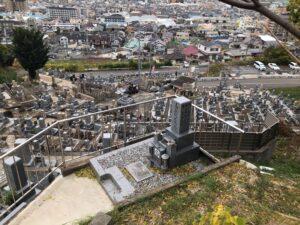 大県共同墓地(柏原市)のお墓