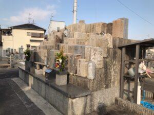 野々上共同墓地(羽曳野市)のお墓