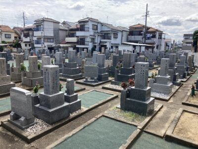 高屋同行共同墓地(羽曳野市)のお墓