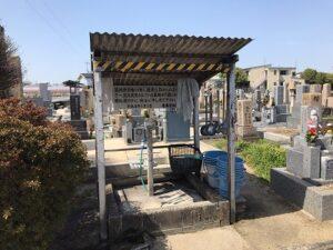 誉田東墓地(羽曳野市)のお墓