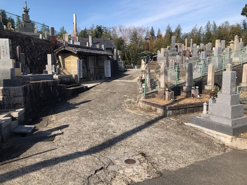 森屋墓地(千早赤阪村)のお墓
