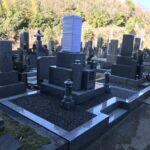 三日市墓地(河内長野市)でお墓の工事です。