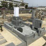 三宅霊園(松原市)でお墓の工事です。
