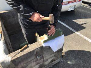 竹を使った工作