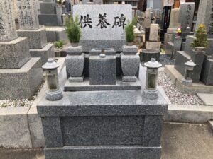 上市区墓地(柏原市)のお墓